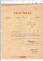 49-Cointreau & Fils  Angers  (Maine & Loire ) 1950 - Francia
