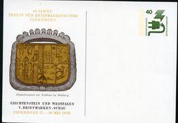Bund PP69 D2/019b DOPPELWAPPEN RATHAUS RIETBERG Paderborn 1976  NGK 4,00 € - Postales Privados - Nuevos