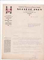49-Société I N O V  Spécialité De Jouets, Jeux.....  Angers  (Maine & Loire ) 1947 - Petits Métiers