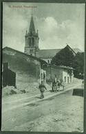 """St. Souplet Pres Cambrai Dep. Nord 1917 """" Batiment Detruit, Avec Eglise Facteur Vehicule Cheval"""" - Cambrai"""