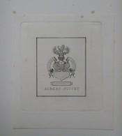 Ex-libris Héraldique XIX - ALBERT PICTET - Ex Libris