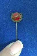 VINTAGE ENAMEL LAPEL PIN / BADGE ADVERTISING BIC PENS - Trademarks