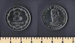 Tajikistan 3 Somoni 2019 - Tadjikistan