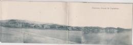 Panorama Lixouri De Cephalonie   Carte Panoramique En 4 Vollets  Voir Scan (rare) - Grèce
