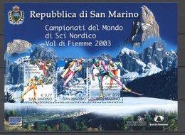 SAN MARINO -  GRANDIOSA OFFERTA 5 FOGLIETTI  MNH** - Blocks & Sheetlets