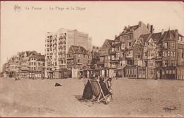 La Panne La Plage Et La Digue Het Strand En De Dijk - De Panne