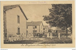 02 - Im Kriegslazarett SISSONNE (1915) - Camp De Sissone Hôpital Allemand - 1.WK - WW1 - Sissonne