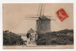 - CPA ILE SAINT-CAST (22) - Le Moulin De Billy 1912 (avec Personnages) - Edition Passenard 138 - - Saint-Cast-le-Guildo