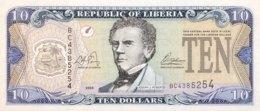 Liberia 10 Dollars, P-27a (2003) - UNC - Liberia