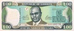 Liberia 100 Dollars, P-30a (2003) - UNC - Liberia