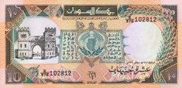 Sudan 10 Pounds, P-46 (1991) - UNC - Sudan