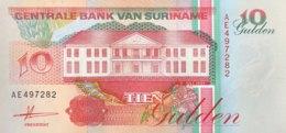 Suriname 10 Gulden, P-137a (9.7.1991) - UNC - Suriname