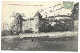 47-SAINT-BARTHELEMY-Foirail Aux Brebis...1906  Animé - France