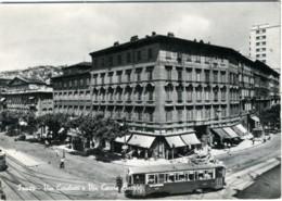 TRIESTE  Via Carducci E Via Cesare Battisti  Tram  Tramway - Trieste