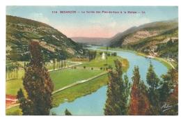 25 - Besançon - La Vallée Des Prés De Vaux à La Malate - Besancon