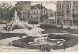 Bruxelles-Schaerbeek - Place Des Bienfaiteurs - Henri Georges éditeur No 3165 - 1924 - Schaerbeek - Schaarbeek