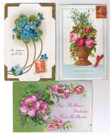 LOT DE 21 CARTES FANTAISIES - Cartes Postales