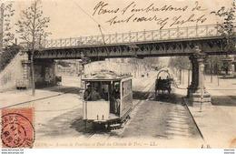 D72  LE MANS  Avenue De Pontlieu Et Pont Du Chemin De Fer  ..... - Le Mans