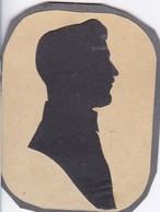 Scherenschnitt - Porträt Eines Mannes - Ca. 1915 - 10*8cm (46197) - Papel Chino