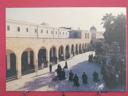 Israël - Jerusalem - First Station Of The Cross - Via Doloroza - Recto Verso - Israel