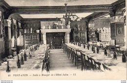 D29  PONT- AVEN  Salle à Manger De L' Hôtel Julia   ..... - Pont Aven