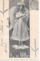 Angel, Ange, Engel, Angelo, Girl, Mädchen, Girl, On Cloud, Wolke, Nuage, Star, Sterre, étoile / 1904 - Altri