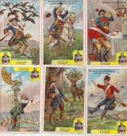 CHROMO CIBILS REEKS 3.2.13-MUENCHHAUSEN-6 ST.FRANS - Trade Cards