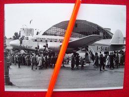 SIAI SM 95 ALLA FIERA DI MILANO 1947   AEREO AEROPLANO - Aviation