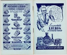 LIEBIG Altes Metzgerei-Anschreibebuch ~1935 Carnet Commercial Pour Achats Semainenes D'clientes Boucherie - Liebig