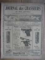 JOURNAL DES CHASSEURS ET DES GARDES 1911 N°36 -56 Pages Richement Illustrées : Armes - Cartouches ... - Kranten
