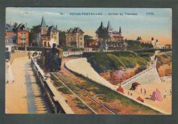 CP (17) Royan-Pontaillac - Arrivée Du Tramway - Royan