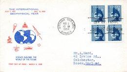 CANADA. N°303 De 1958 Sur Enveloppe 1er Jour Ayant Circulé. Année Géophysique Internationale. - International Geophysical Year