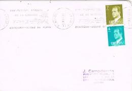 35151. Carta BENIDORM (Alicante) 1985. Rodillo Especial XXV Festival Español De La Canción - 1931-Hoy: 2ª República - ... Juan Carlos I