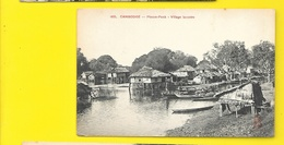 PHNOM PENH Village Lacustre (Dieulefils) Cambodge - Cambodia