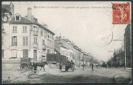 Bourg-la-Reine - La Grande Rue Prise Du Territoire De Sceaux - C.L.C. - Voir 2 Scans - Bourg La Reine
