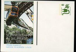 Bund PP69 D2/027 SCHWEBEBAHN WUPPERTAL 1976  NGK 4,00 € - Cartoline Private - Nuovi