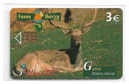 Spain - Telefonica - Fauna Iberica - Deer Animal - P-577 - 11.2005, 4.000ex, NSB - España