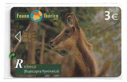 Spain - Telefonica - Fauna Iberica - Rebeco - P-582 - 03.2006, 4.000ex, NSB - España