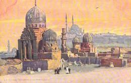Egypte Egypt > Le Caire  CAIRO  Tombeaux De Mameluks Carte Du Service De Publicite De La Compagnie OCEAN* PRIX FIXE - Cairo