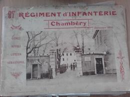 Livret Sur Le 97 RI Régiment D'infanterie Chambéry - Dokumente