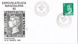 35155. Carta CASTELLON 1982. Expo Filatelica MAGDALENA 82 - 1931-Hoy: 2ª República - ... Juan Carlos I