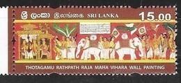 SRI LANKA, 2019, MNH, CELEBRATIONS, VESAK, ELEPHANTS, BIRDS, 1v - Feste
