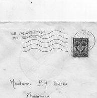 """L-  Lanveoc- Cachet :"""" Le Vaguemestre Du BORDELAIS """"- - Marcophilie (Lettres)"""