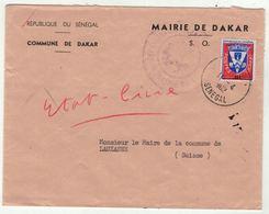 Sénégal // Lettre Pour La Suisse - Sénégal (1960-...)
