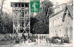 27 PACY SUR EURE POMPIERS MANOEUVRE CONCOURS MANOEUVRES - Pacy-sur-Eure
