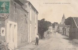 Saint-Jean-de-Beugné (Vendée) - La Grande Rue - Sonstige Gemeinden