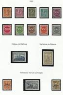 Allemagne N° 239 à 250 + 251 251A 251B De 1921 1923 - Zonder Classificatie