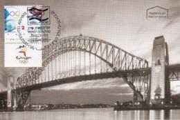 ISRAEL, 2000, Maxi-Card(s), Olympic Games - Sydney, SG1493, F5595 - Tarjetas – Máxima