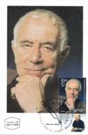 ISRAEL, 2001, Maxi-Card(s), Yehuda Amichai, SG1565, F5619 - Maximumkaarten