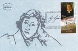 ISRAEL, 2001, Maxi-Card(s), Heinrich Heine, SG1569, F5623 - Maximum Cards